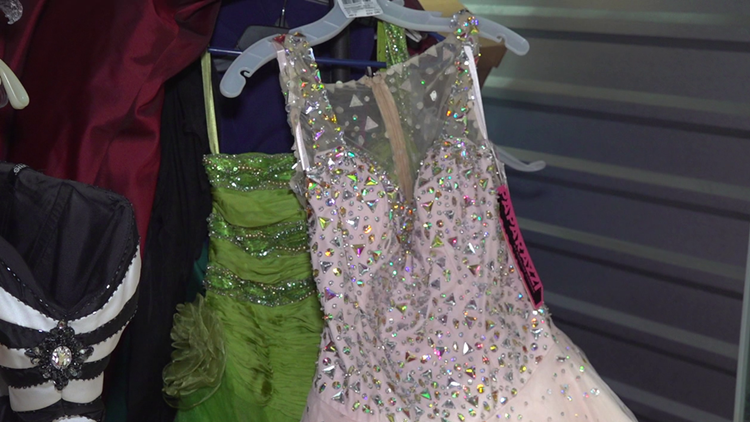 CPS prom dresses foster