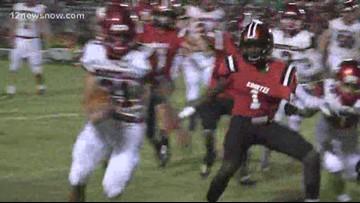 Deweyville High School steals Homecoming win from Kountze 32 - 13