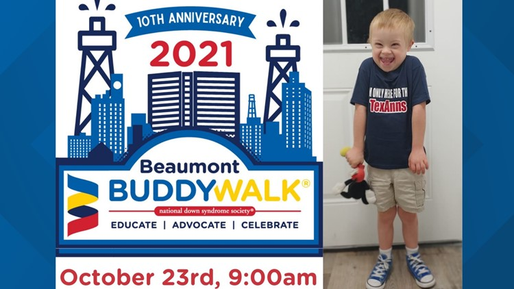10th Annual Beaumont Buddy Walk raises Down Syndrome Awareness, promotes inclusion