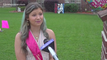 Lumberton teen celebrates sweet 16 with drive-by parade from community