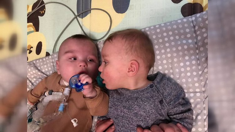 Southeast Texas community bands together to help family of Nederland twins
