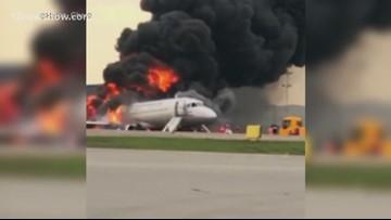 Russian passenger plane catches fire, kills 41