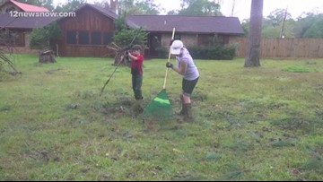 Silsbee family left to pick up pieces after Tuesday's storm