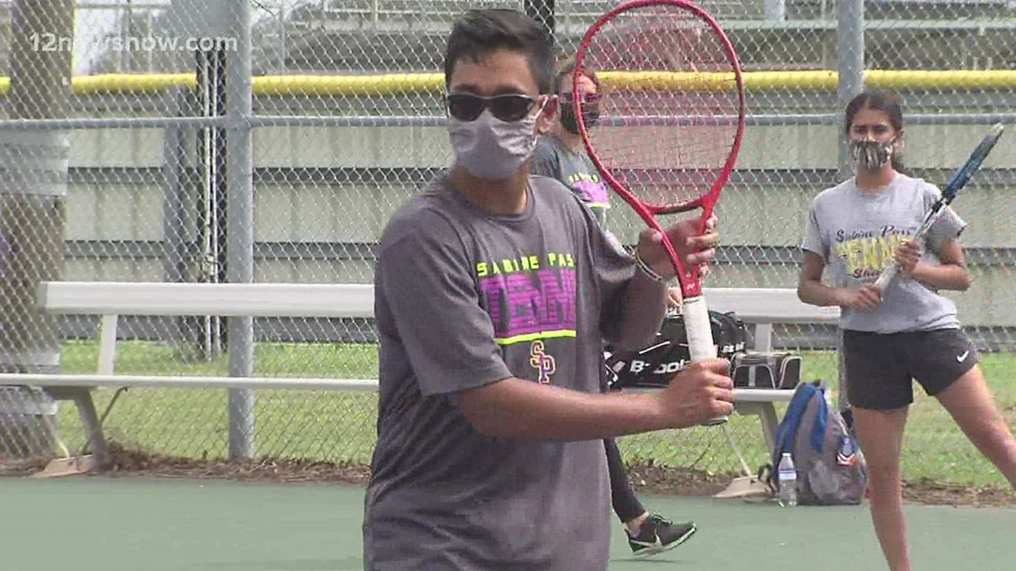 Sabine Pass tennis player Travis Mistry is State bound!