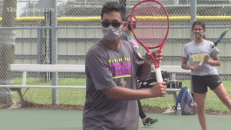 Sabine Pass tennis player Travis Mistry is State bound!