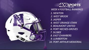 409Sports Football Rankings: Week 4