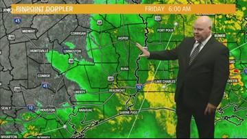 Entergy said Southeast Texas suffered hurricane-like damage