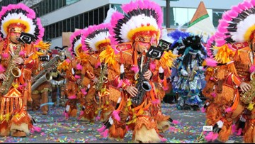 Mummers to Mardi Gras: Woodland String Band makes return appearance at Mardi Gras Southeast Texas