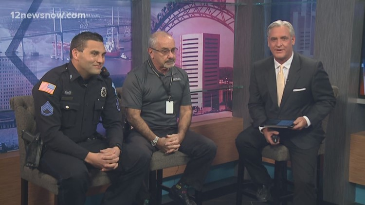 Lunch with the Chief: Beaumont Police's Jimmy Singletary talks about written warnings, car accidents and speeding during an emergency