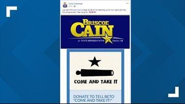Former Jefferson County DA throws support behind Texas rep who tweeted 'My AR is ready for you' to Beto O'Rourke