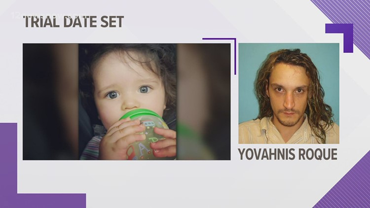 Trial date set for Orange father accused of killing young daughter with hammer