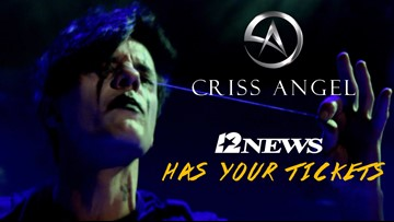 Win a pair of tickets to see magician Criss Angel in Beaumont