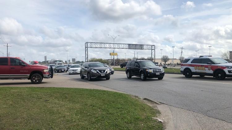 traffic Eastex Freeway fatal crash