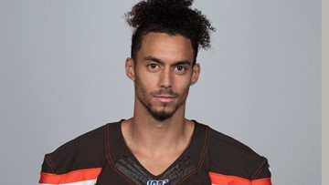 He sneaked his way into a tryout with the Browns, and now he's sticking around