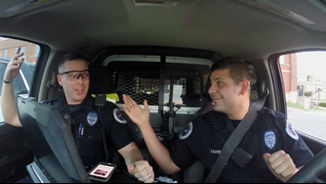 The battle within | Officers with Conway PD battle each other in lip-sync challenge