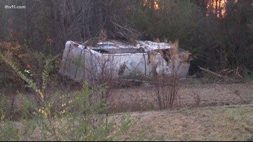 Bus carrying youth football team crashes, killing 1 child and injuring more than 45