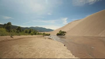 Peak surge flow expected soon at Great Sand Dunes National Park