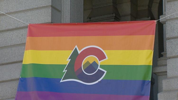 Colorado Pride Flag