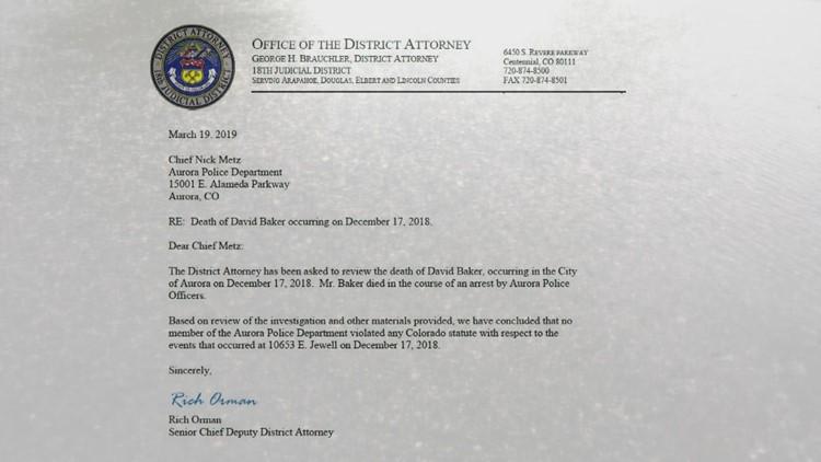 Rich Orman Letter