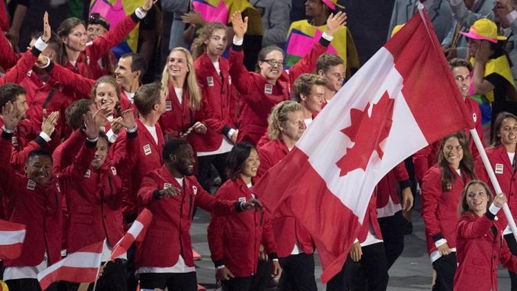 Rio Olympics Opening Ceremony Canada
