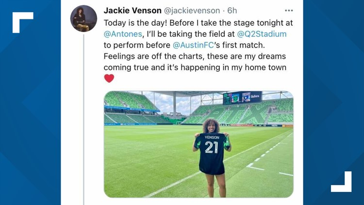 Jackie Venson to perform 'Black national anthem' at Austin FC match in honor of Juneteenth