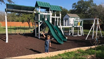 Lawsuit dismissed over playscape for terminally-ill Georgetown boy