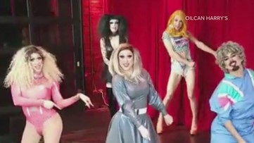 Amid the City's mandated closure, 5 drag queens helped raise $4,000 for an Austin bar's staff