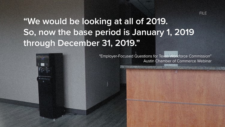 The Texas Workforce Commission spoke with employers during a webinar.  We listened to the call