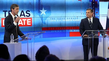 Latest poll shows Sen. Cruz in lead, but Rep. O'Rourke narrowing gap