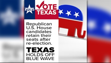 Texan Republicans sweep seats for U.S. House, Doggett remains sole Democrat