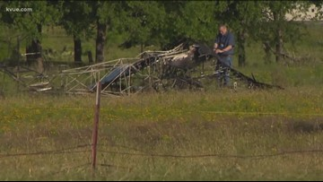 Two dead after plane crash in Central Texas