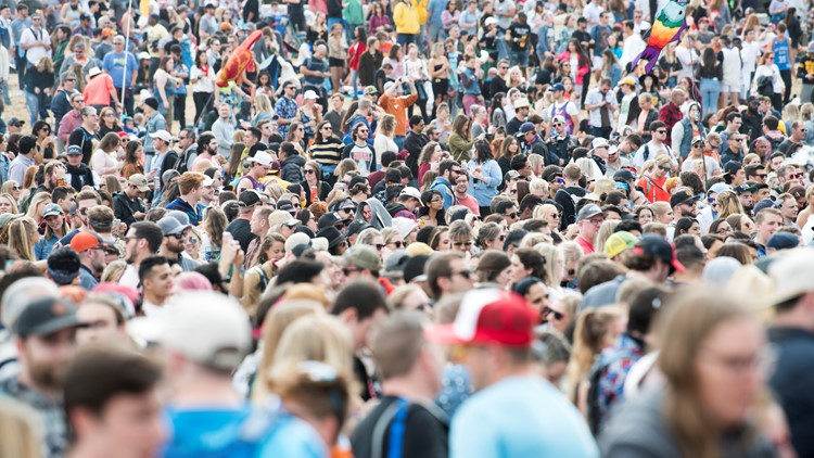 ACL Fest 2021 releases schedule; will require proof of vaccination or a negative COVID-19 test