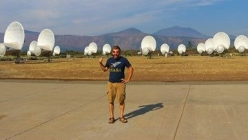 Listening for aliens in Northern California