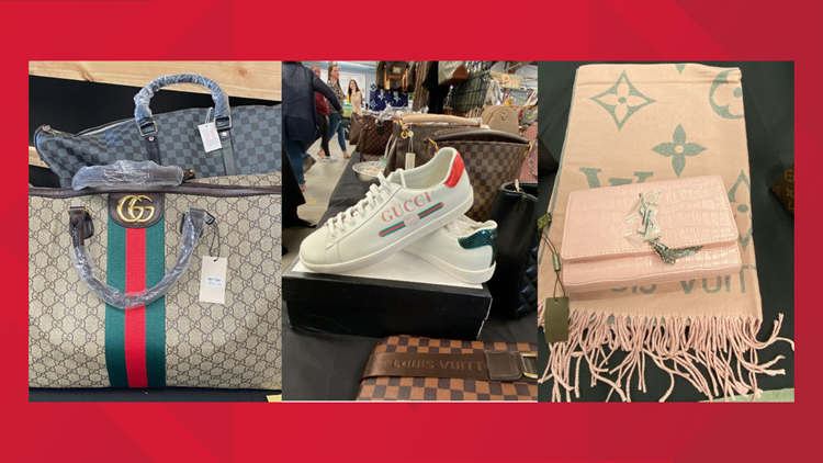 $1.3M in counterfeit luxury goods seized at First Monday Trade Days in Canton