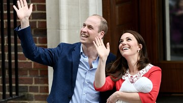 Kate Middleton and Prince William's son, Prince Louis, to be christened in July