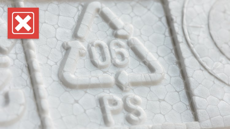 No, recycling symbols on plastics do not mean an item can always be recycled