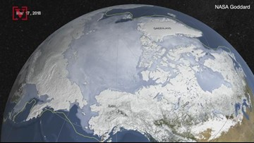 For The Moment, There is a Slowdown In The Melting Of Arctic Sea Ice