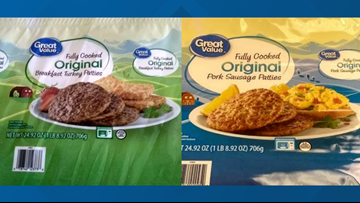 RECALL ALERT: Great Value pork and turkey sausage may contain Salmonella