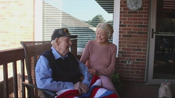 'I've lived a good life' | South Carolina two-war veteran celebrates 100th birthday