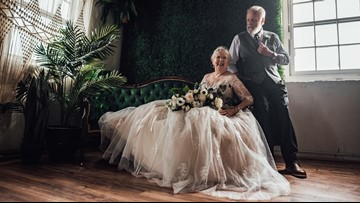 South Carolina grandparents stun the internet in 60th anniversary photo shoot