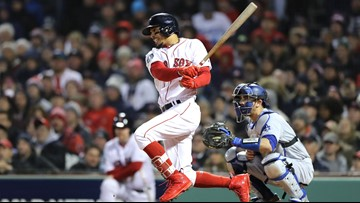 Red Sox star Mookie Betts delivered food to homeless after World Series Game 2 win
