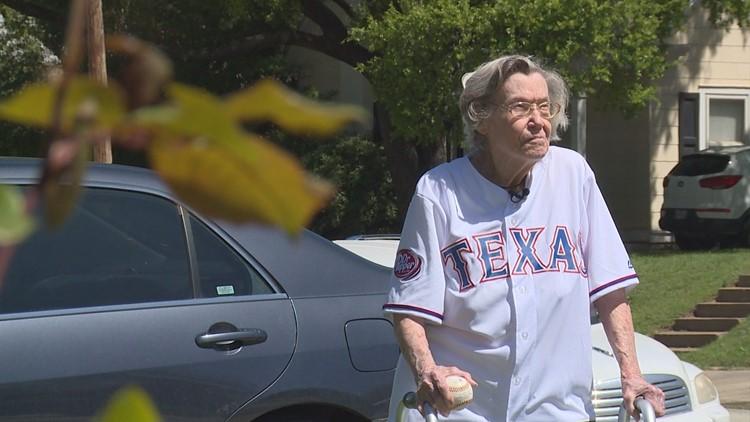 At 106, long time Texas Rangers fan Elizabeth Sullivan passed away in her sleep.