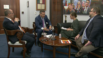 Texas Sen. Ted Cruz and actor Alyssa Milano debate Second Amendment, gun control