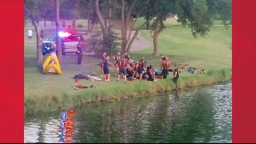 Teen drowned in McKinney golf course pond