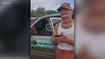 Texas tree service worker accused of assaulting black man, using racial slur