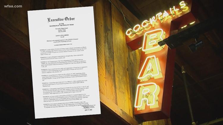 Some Texas bars still open despite state orders to close