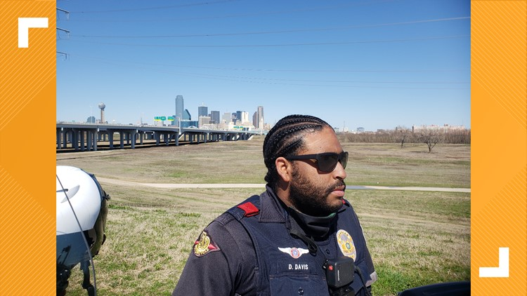 Texas police officer never thought his braided hair would interfere with his ability to do his job