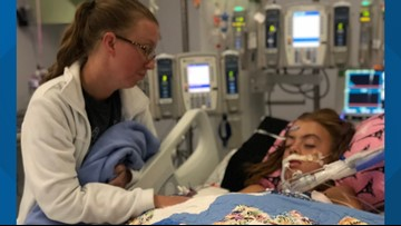 'Send your prayers': Central Texas girl in medically-induced coma after contracting brain-eating amoeba infection