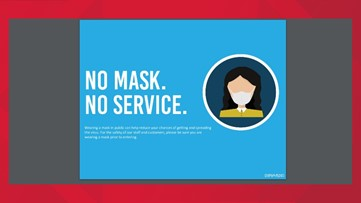 Businesses can require you to wear a mask or refuse to serve you, it's their right!