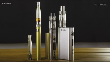 New York State announces executive action to ban sale of flavored electronic cigarettes